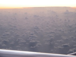 Seen from the airplane